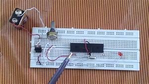 Led Brightness Controller Using Potentiometer Variable