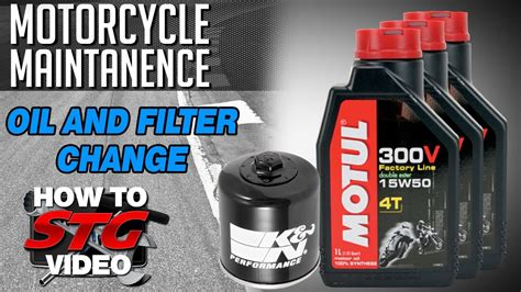 How To Change Motorcycle Oil & Filter From