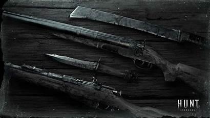Showdown Hunt Wallpapers Weapons Weapon Desk Huntshowdown