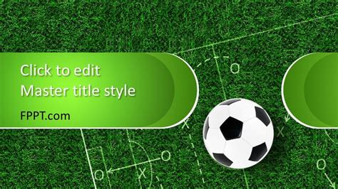 soccer powerpoint template  powerpoint templates