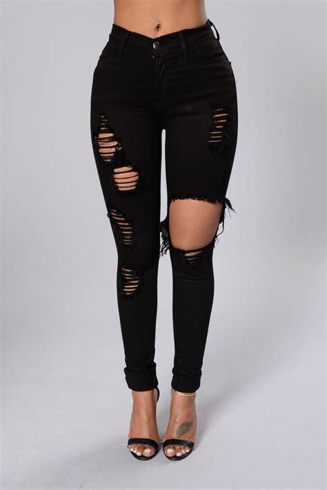 Glistening Jeans - Black