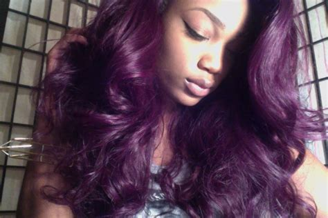 How I Colored My Hair Purple