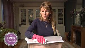 tutoriel video ceruser un meuble en bois avec bondex With ceruser un meuble fonce