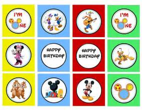 Mickey Mouse Clubhouse Birthday Printables Free