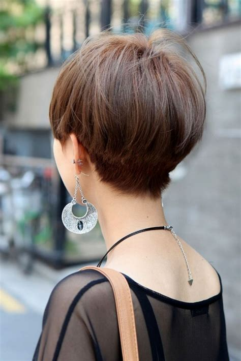 Short Hairstyles Back View   Hairstyles Ideas