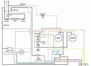 Old Fashioned Cal Spa Wiring Diagram Vignette Electrical