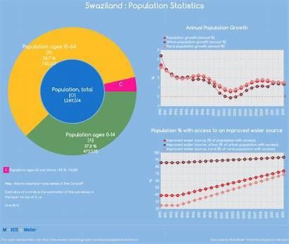Population Zimbabwe Swaziland Iraq Statistics Infographic Total