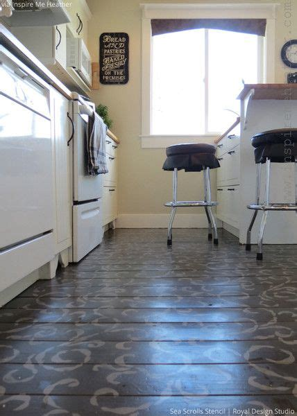 kitchen stencils designs 314 best images about stenciled painted floors on 3106