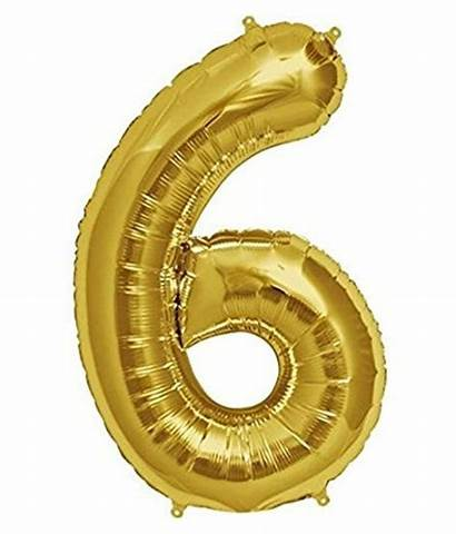 Foil Balloon Inch Number
