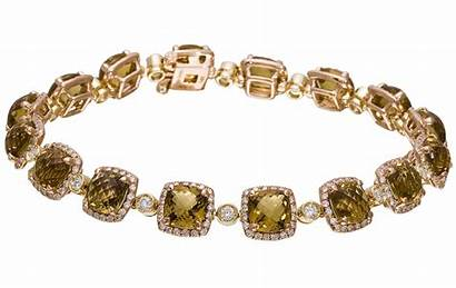 Bracelet Rose Gold Topaz Diamond Diamonds Carat