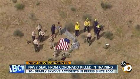 Navy SEAL dies in parachute training accident - LA Times