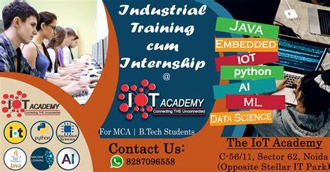 industrial training cum internship program  bca mca