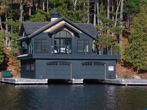 Boat House Ca by Concrete Dock And Boat House Magog Au Quai Service
