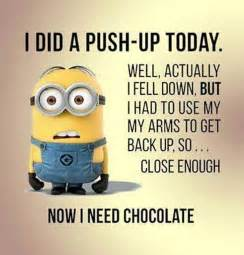 now i need chocolate minion quote pictures photos and images for