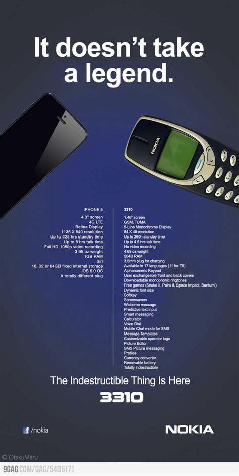 Nokia 3310 Memes - iphone 5 vs nokia 3310 meme by yekta97 memedroid