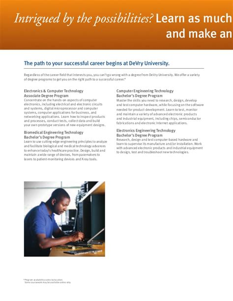 electronics engineering technology careers guide
