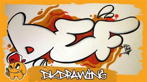 graffiti alphabet tutorial   draw graffiti bubble