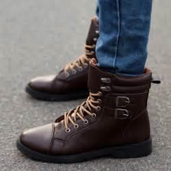 Suede Fur Winter Boots Men