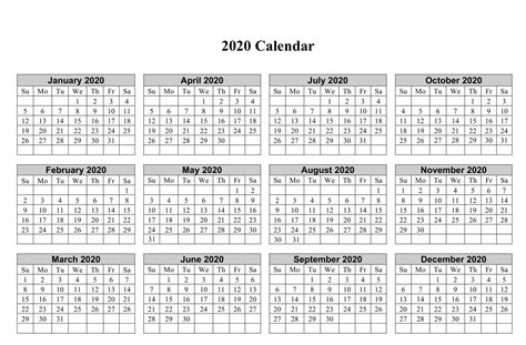yearly calendar template  notes  net market