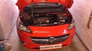 Vauxhall Opel Corsa E O2 Sensor 1 Bank 1 Location