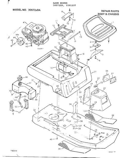 Murray Mower Carburetor Diagram by Murray Lawn Tractor Parts Model 30572x9a Sears Partsdirect