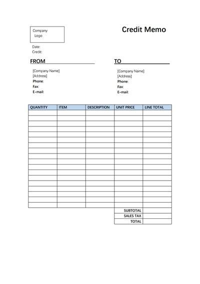 credit memo template credit memo template free create edit fill and print wondershare pdfelement