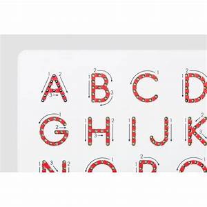 magnetic alphabet magnatab upper case With large magnetic alphabet letters