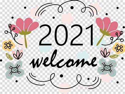 Happy Welcome Drawing Floral Wishes Cartoon Clipart