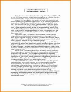 graduate school essay