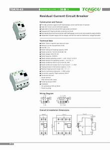 Tongou Electrical Catalogue