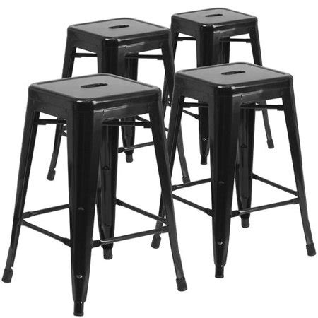 square counter stools flash furniture 24 quot high backless metal indoor outdoor 2439