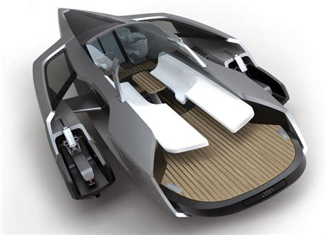 Motorboot Jetski by Hybrid Motoryacht Design Powered By Diesel And Electric