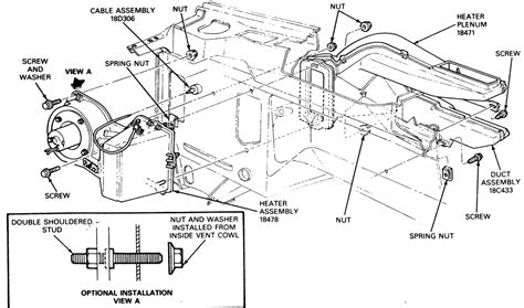 92 Mustang Heater Blower Wire Diagram by How To Wire The Heater Resistor In 1980 F150