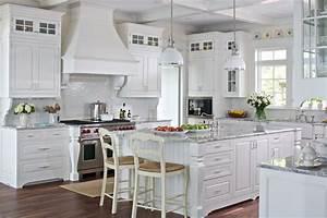 White Cottage Farmhouse Kitchens - Country Kitchen Designs