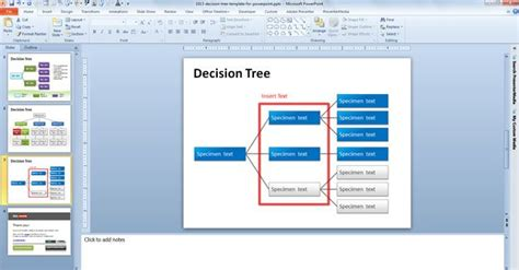 free decision tree template bayesian network tutorial ppt