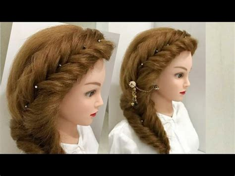 side hair braid styles most easy and beautiful side braid hairstyle 5627