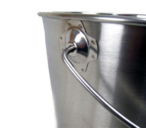 20 liter eimer edelstahl eimer k 252 cheneimer 20 liter mit deckel