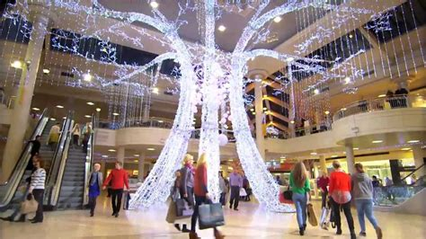 intu metrocentres spectacular christmas decorations youtube