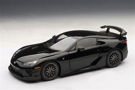 lfa lexus black autoart 2011 lexus lfa nurburgring edition glossy black