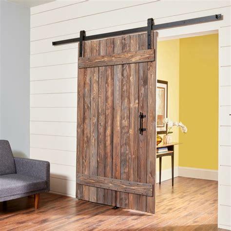 como hacer puertas  interiores corredizas tipo granero