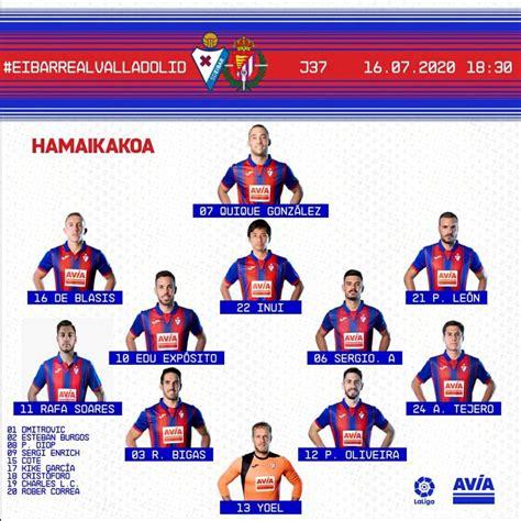 Eibar 3 vs 1 Real Valladolid por la jornada 37 de LaLiga ...