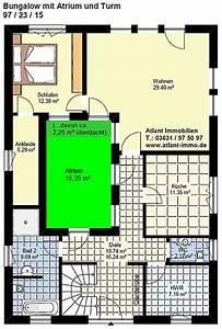 Atrium Bungalow Grundrisse : atrium bungalow 97 23 15 mit turm schmal grundriss einfamilienhaus neubau massivhaus stein auf stein ~ Bigdaddyawards.com Haus und Dekorationen