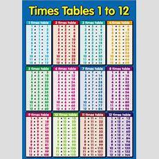 Printable Multiplication Times Table Chart  Multiplication Table Printable Reviewed On Tuesday