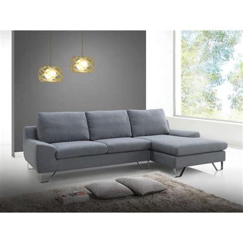 prix canap 233 quot trendy quot gris angle gauche achat vente canap 233 sofa divan tissu 100