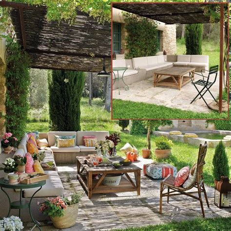 colorful backyard ideas bringing bright color accents into outdoor rooms before and after patio ideas