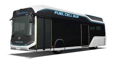 toyota unveils fc bus concept sora toyota global newsroom