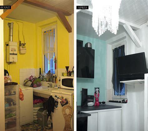 cuisine appartement parisien déco avant après mon appartement parisien