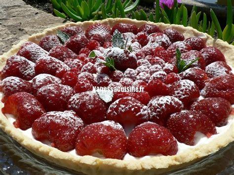 tarte fraise framboise cr 232 me vanill 233 e au mascarpone cuisine