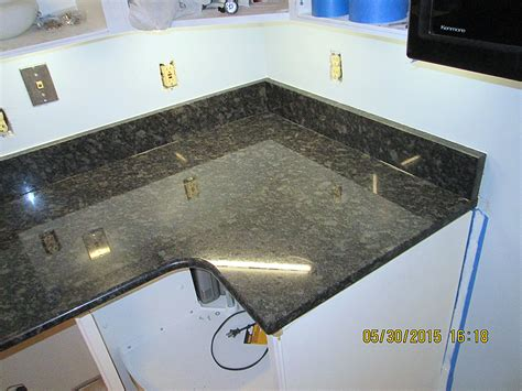 granite kitchen countertop w bullnose edge crafted