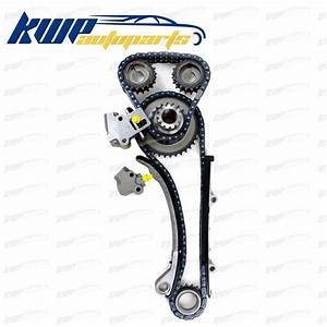 Engine Timing Chain Kit Fits For 98 04 Nissan 2 4l Altima